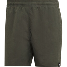 adidas Solid SL Short Homme, legend earth